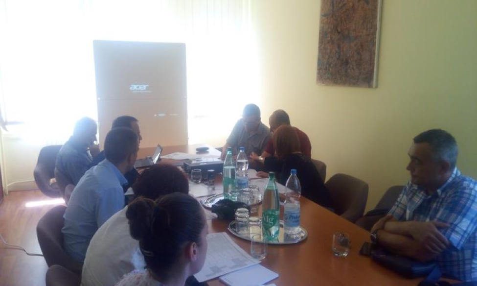 Održan prvi sastanak projektnog tima