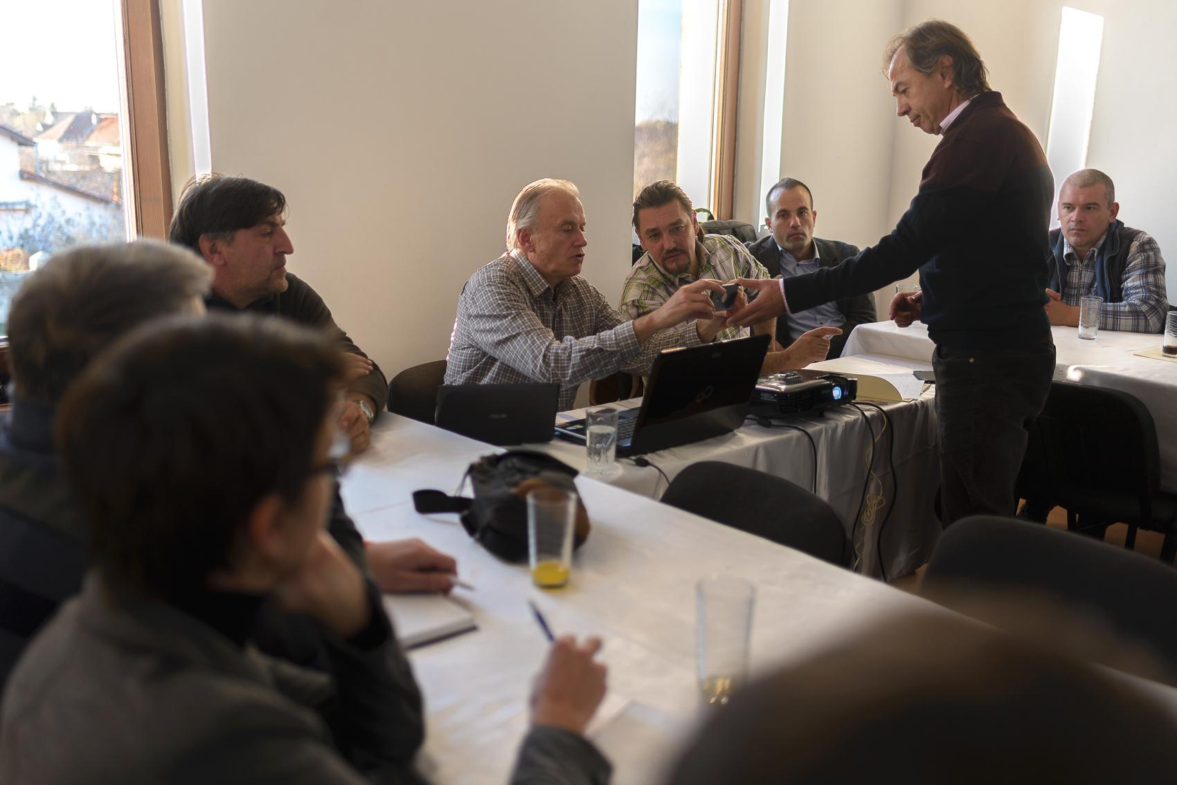 Prvi sastanak Ciklo grupe u Žombolju