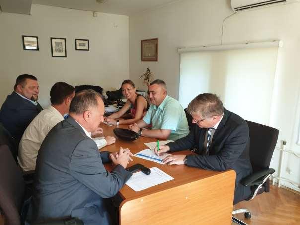 Prvi sastanak zajedničkog upravljačkog komiteta (JSC)