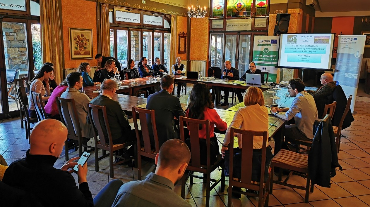 ACADEME: Kapitalizovana prekogranična sinergija za veći uticaj u Evropi na poljima održive mobilnosti i transporta