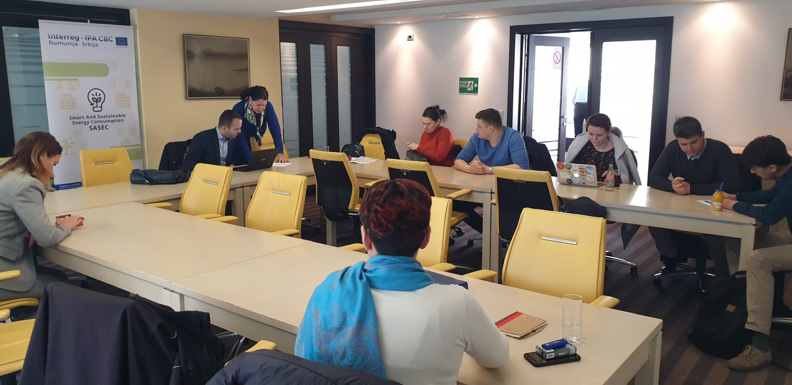 Treći sastanak projektnog tima – SASEC